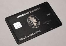 NEW 2020 American Centurion Black Card TITANIUM Express Amex - Fast Service