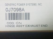 Generac OJ7098A Hinge exhaust end