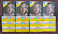 Lot of 12 Packages 3 EA Of Sylvania Blue Dot FlashCubes 36 Total W/ Original Box