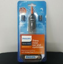 Last Philips NT3160 Nose Ear Hair Eyebrow Water-Proof Trimmer Series 3000