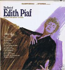 LP EDITH PIAF LITTLE SPARROW OF FRANCE