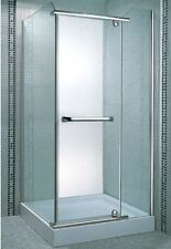 Mamparas de ducha para platos cuadrados de 80x80x190cm