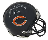 Jim Covert Signed Chicago Bears Riddell Mini Helmet w/HOF'20 - SS COA