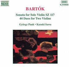 B. Bartok - Works for Violin [New CD]