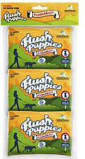 Flush Puppies - Flushable Dog Poop Bags - UK Seller - 3 Wallet Packs - 60 Bags