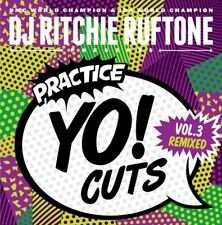 "Ritchie Ruftone Practice Yo! Cuts Vol. 3 Remixed 7"" Scratch Vinyl portablism"
