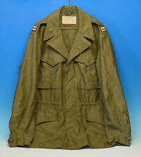 WWII 1945 US Army M43 Jacket Coat w/ Captain Rank Combat Serviceable NICE WW2