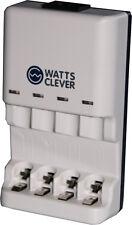 NEU * Batterie Ladegerät für normale Batterien und Akkus AA,  AAA  Ni-CD  Ni-MH