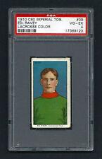 PSA 4 1910 C60 LaCROSSE CARD #39 ED RAVEY