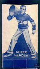 1929 Peoples Baking Football Card-University of  California Cheerleader Card