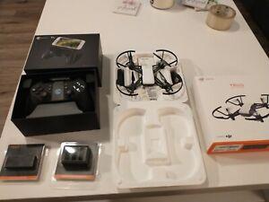 DJI Tello Minidrone Quadcopter 5MP 720P Combo & Gamesir remote, Hub, extras- NEW
