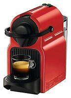 Nespresso Inissia Espresso Machine, Red