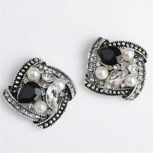 Novel Fashion Pearl Rhinestone Button Wedding Embellishment Decoration For Craft