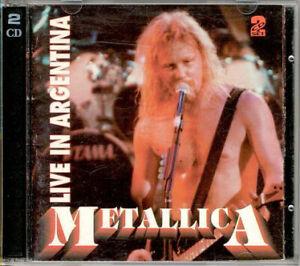 Metallica Live In Argentina 2CD 1993