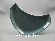 Poole Twintone Blue Moon crescent side plate