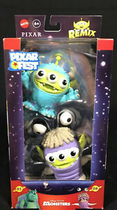 New! Disney PIXAR Remix Toy Story Alien Boo & Sulley from Monsters Inc.