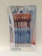Frozen...Coloured Pencils