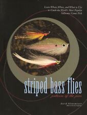KLAUSMEYER FLYFISHING BOOK STRIPED BASS FLIES WHEN WHERE & WHAT TO USE bargain