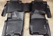 SALE Husky Liners Weatherbeater Floor Liner for 16-17 Titan XD Crew Cab Complete