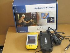 TRIMBLE GEO XM EXPLORER CE 46475-50 With Charger, The Original Pouch And Getting