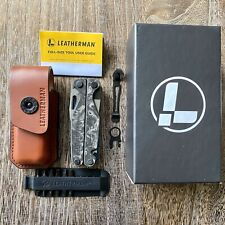 Only 300 made, Limited Edition Leatherman Charge Plus Damascus CF Multitool