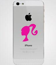 Barbie Head Logo Symbol iPad iPhone Laptop Car Window Vinyl Decal Sticker