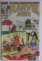 Marvel Age #53 (Aug 1987, Marvel)
