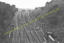 Knottingley Railway Station Photo. Pontefract to Whitley Bridge & Womersley. (3)