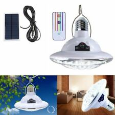 22LED Outdoor/Indoor Solar Lamp Hooking Camp Garden Path Lighting Remote Control