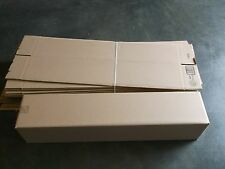 "Single Wall Cardboard Box, 8"" x 8"" x 40"" (Bundle of 20 ea)"