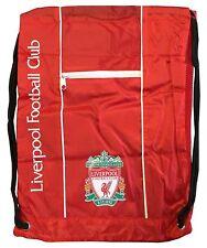 Liverpool Cinch Red Backpack Mochila Book Bag Gym drawstring Sack Soccer