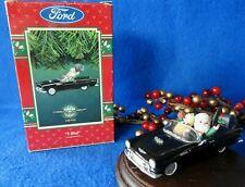 Enesco Ornament 1995 1955-1995 T-Bird Ford Thunderbird 40th Anniversary