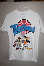 New Space Jam Tune Squad White Characters Bugs Bunny Tee Shirt Mens Sz Small