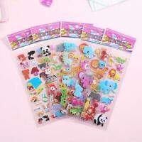 3D Cartoon Kids Bubble Stickers Classic Toys Sticker School G7K7 Reward B3S3