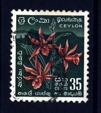 SRI LANKA - CEYLON - 1951-1952 - Orchidee (Phaius tankervilleae)