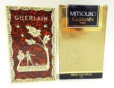Vintage Mitsouko Guerlain perfume , boxed , 1983.