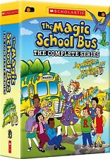 The Magic School Bus: The Complete Series (DVD, 2012, 8-Disc Set, NTSC)