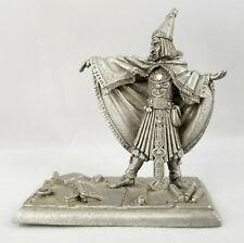 Vintage 1990 Tom Meier Pp262 Sorcerer Fine Pewter Partha Wizard