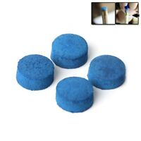 50pcs 9mm 10mm Blue Billiard Pool Cue Tips Stick Hardness Snooker Accessories