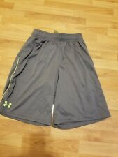 Under Armour Basketball Shorts Boys Youth Medium Gray
