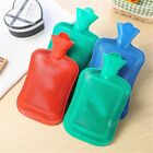 Rubber Hot Water Bottle Bag Warm Relaxing Heat / Cold Therapy 14.5*26.5 Random