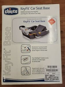 Chicco Keyfit 30 Infant Car Seat Base - Anthracite Fast Shipping EXP 10/2024+