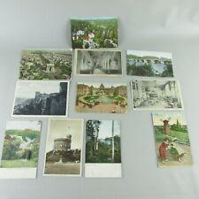 Lot of 11 Vintage Postcards Europe - Set 2