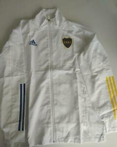 ADIDAS Boca Juniors White Light Jacket, size L