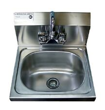 New Commercial Stainless Steel Wall Mounted Hung Hand Sink Nsf (Pick-Up Only)