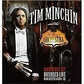 TIM MINCHIN AND THE HERITAGE ORCHESTRA CD NEW SEALED 2 DISCS LIVE FREE UK POST