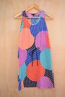 Banana Republic - Multicolor sleeveless shift dress, size 2