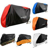 NEVERLAND M-XXXL Motorcycle Cover Waterproof Motor Bike Scooter Rain Protector