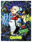 Sale Price - Nastya Rovenskaya - Original Oil on Canvas Harley Quinn