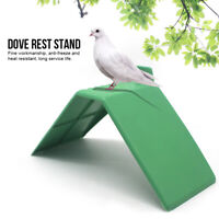 10pcs Perches V Pigeon Bird Dove Pet Rest Stand Roost Frame Dwelling Cage Decor